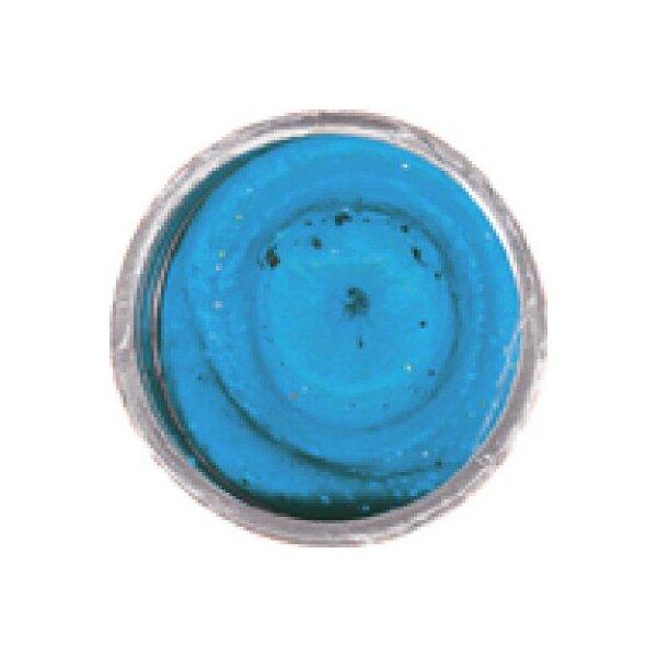 Berkley PowerBait Neon Blue Garlic Glitter 50g