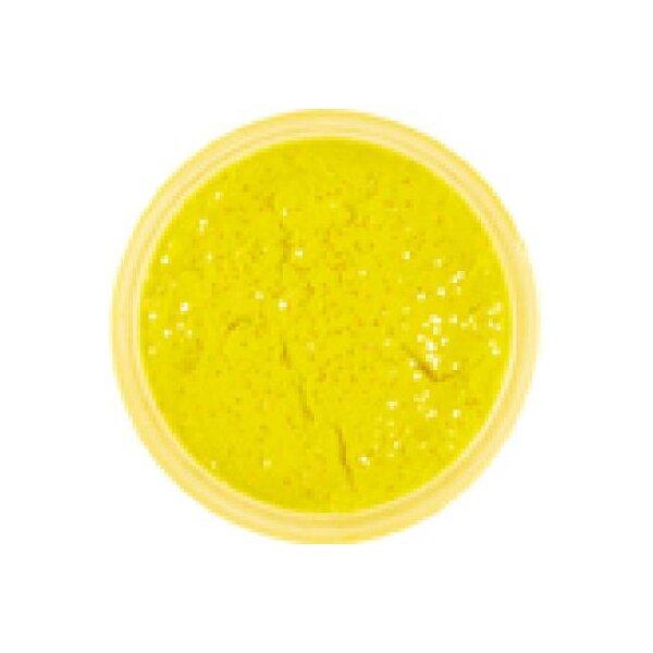 Berkley PowerBait Sunshine Yellow Garlic Glitter 50g