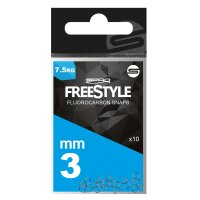 Spro Freestyle Fluorocarbon Ul-Snaps Gr.3mm