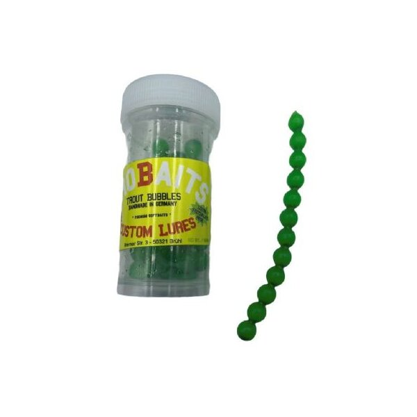 PROBAITS Trout Bubbles Bubblegum fluo grün