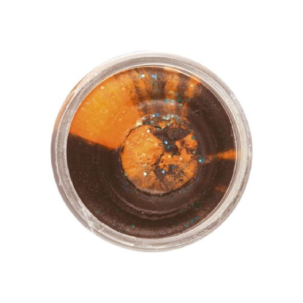 Berkley PowerBait Black Orange Glitter 50g