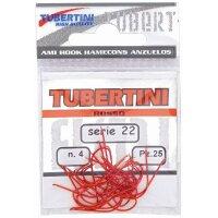 Tubertini Haken Serie 22 rot - Gr. 6