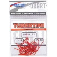 Tubertini Haken Serie 22 rot - Gr. 8