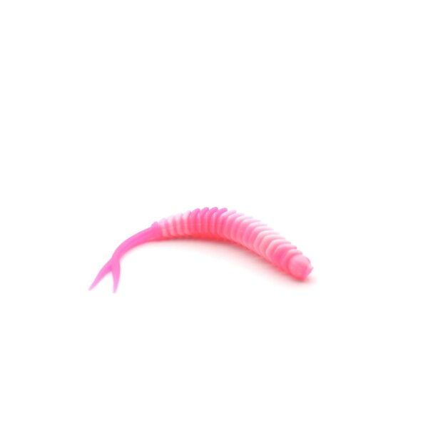 RL Trout Lures - Little Lui shaky white/pink