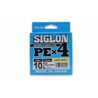 Sunline Siglon PE X4 10lbs 4,5kg Light green 150m